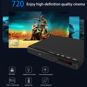 Home DVD Player with AV Cable for TV Multi Region DVD Player with Remote Control DVD Player