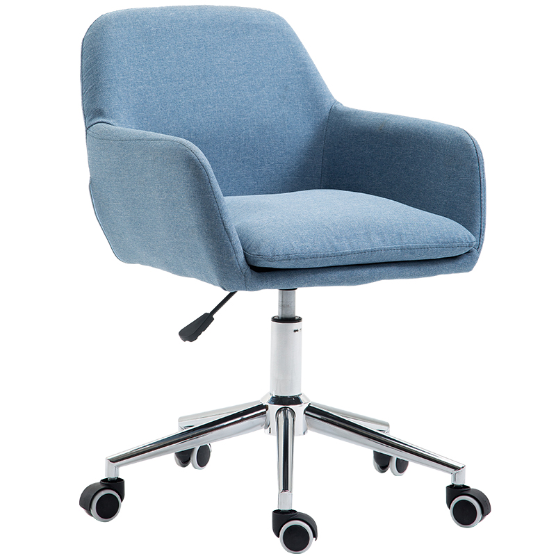 Computer Chair Household Modern Simple Fabric Office  Student Dormitory Book  Lift Swivel  Leisure Back