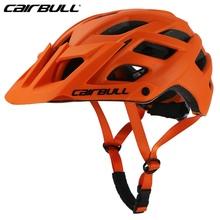 CAIRBULL kask rowerowy rower górski TRAIL XC mężczyźni rower kask mtb Ultralight Road kask Integ-formowane cykl krzyż BMX jazda na rowerze kask tanie tanio (Dorośli) mężczyzn CAIRBULL-30 Approx 280g 20 Insect Net Helmet Equipped cairbull bicycle Helmet 6 colors PC+EPS+insect mesh+visor