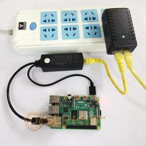 Image 4 - DSLRKIT Gigabit активный сплиттер PoE 5V 5,2 V 2.4A USB TYPE A Female Orange pi 802.3af