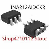 Free shipping 10PCS/LOT NEW INA212AIDCKR INA212A INA212 MARKING CEV SC70 6|null|Eletrônicos -