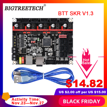 BIGTREETECH SKR V1.3 ARM 32 Bit Controller Board Smoothieboard Open Source Mainboard MKS GEN L 3D Printer Parts free shipping 3dsway 3d printer board lerdge x motherboard arm 32 bit controller with 3 5 tft for education diy 3d printer