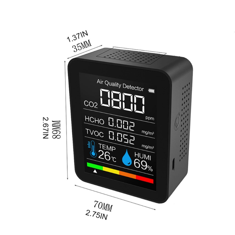 temperatura e umidade sensor tester monitor qualidade
