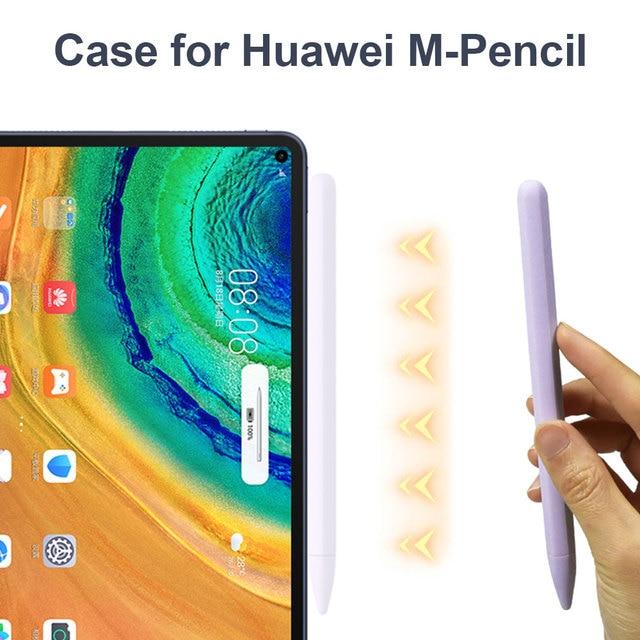 Miękki silikon kompatybilny z Huawei m-piórnik kompatybilny z tabletem Touch Pen Stylus pokrowiec ochronny Anti-lost