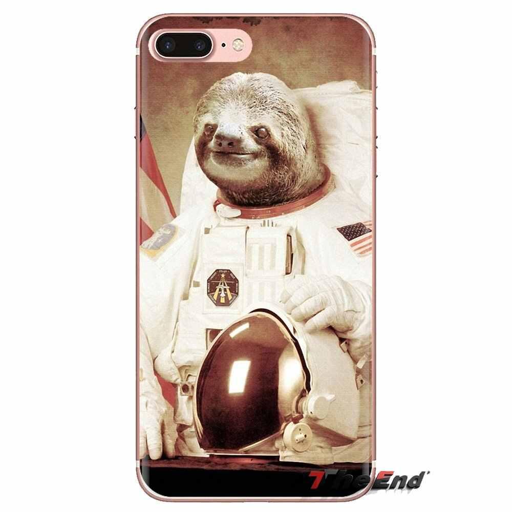 Astronot Hewan Anjing Kucing Howldesign Silikon Lembut Case untuk Samsung Galaxy J1 J2 J3 J4 J5 J6 J7 J8 PLUS 2018 Perdana 2015 2016 2017