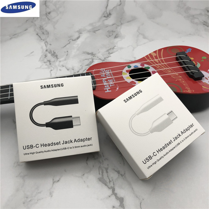 USB Type C адаптер для наушников Samsung, аудио кабель 3,5 мм для Galaxy A60 A6S A80 A8S Note10/10Pro N9700