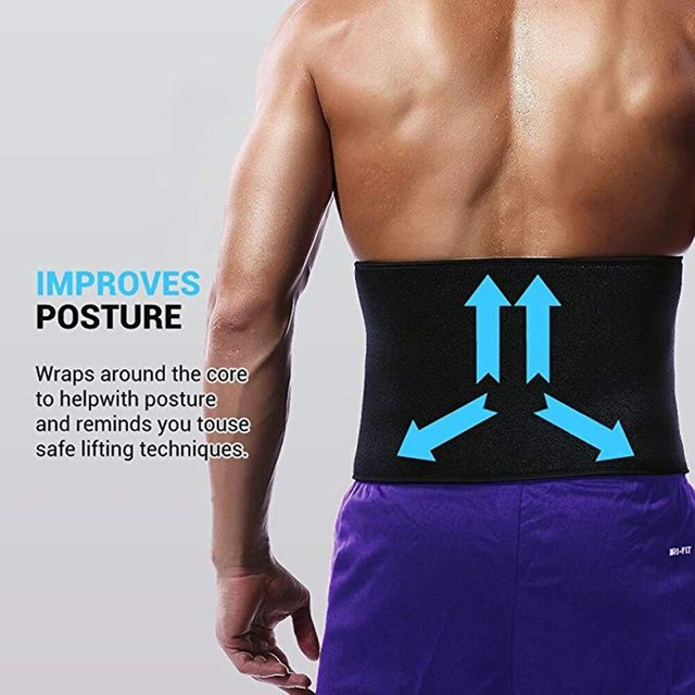 Sports Slimming Waist Trimmer Belt Weight Loss Sweat Band Wrap Fat Tummy Stomach Sauna Sweat Belt Rope Skipping Suit 1