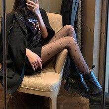 Silk Stockings Leggings Women Lolita-Tights Transparent Sexy Black Anti-Hook Thin Bow-Tie