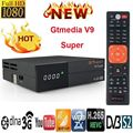 GTmedia V9 Супер Спутниковый ресивер Freesat V8 супер обновленный GTmedia V8 Nova V7S HD с CCcam Cline для 1 года Европы