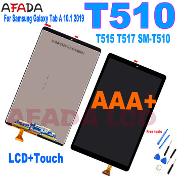 10.1' T510 LCD For Samsung Galaxy Tab A 10.1 2019 T510 T515 T517 SM-T510 LCD Display Touch Screen Digitizer Assembly Glass Panel tablet lcd assembly for samsung galaxy tab a 9 7 sm p550 p550 display with touch screen digitizer panel lcd combo replacement