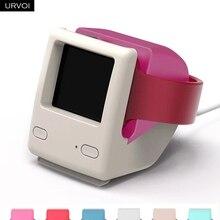 URVOI подставка для apple watch 4 3 2 1 держатель watchOS 5 тумбочка режим ремонт Хранитель PC домашняя зарядная док-станция для Macintosh дизайн