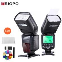 Triopo TR 988 Ttl Hss High Speed Sync Camera Speedlite Flash Voor Canon En Nikon 6D 60D 550D 600D D800 D700 digitale Slr Camera