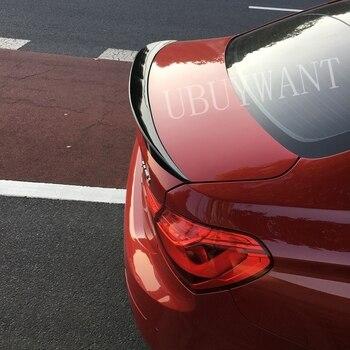 For BMW 1 Series Sedan ABS Material Car Rear Wing Primer Color Trunk Rear Spoiler Decoration 118i 120i 125i 2017 2018 2019
