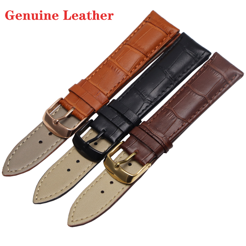 Genuine Leather 22mm watchbands 20mm watch strap watchbracelet Watch Band Suitable for gear s3 frontier samsung galaxy watch 46