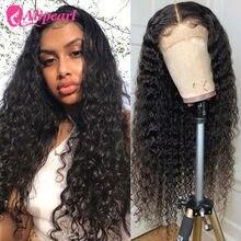 Perruque Lace Closure Wig ondulée brésilienne naturelle – AliPearl, cheveux Remy, 4x4, pre-plucked, densité 180%