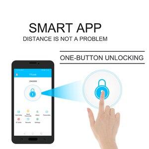 Image 3 - Smart Bluetooth APP Passwort Türschloss Keyless Digitale Türschloss Passwort + 6 Karten + 2 Mechanischen Tasten Für Hause