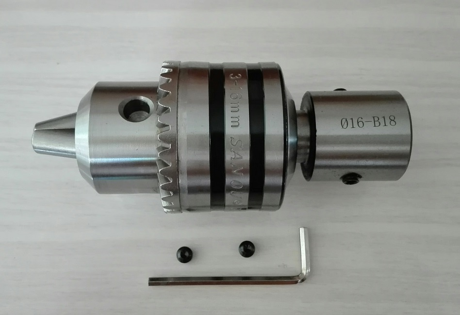 B16+13mm Drill Chuck Arbor B16 Adapter Motor Shaft Connecting Rod With Inner Hole 8mm 9 10 11 12mm 13 14 15 16 17 18 19 20mm