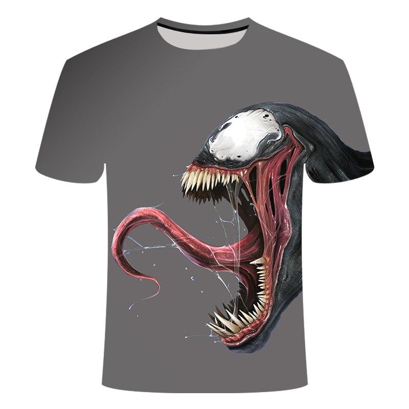 "Новинка, Мужская Футболка Venom, футболка ""Марвел"", 3D принт, футболка s, мужская, женская, Повседневная футболка, футболка для фитнеса, футболки, топы - Цвет: TX-038"