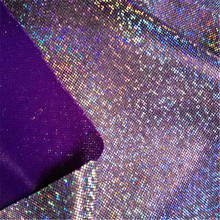 Laser Symphony Bronzing Fabric Toy Stage Shiny Small Dot Knit Fabric Photo Background Cloth