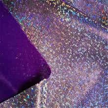 Laser Symphony Bronzing Fabric Toy Stage Shiny Small Dot Knit Fabric Photo Background Cloth
