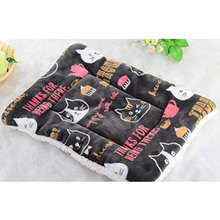 NEW Large Pet Dog Cat Bed Puppy Cushion House Soft Warm Kennel Mat Blanket