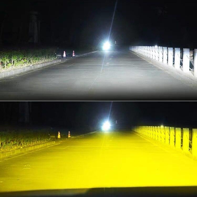 BraveWay 3000 K/6500 K/8000 K ampoules de phares LED H7 LED H4 H8 H9 H11 double LED Auto lampe