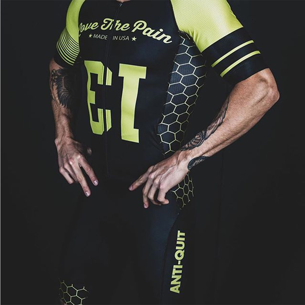 Make In Usa Custom Cycling Skinsuit Triathlon Aero Lycra Clothes Bicycle Speedsuit Bike Tri Suit Bike Jumpsuit Triatlon Ciclismo