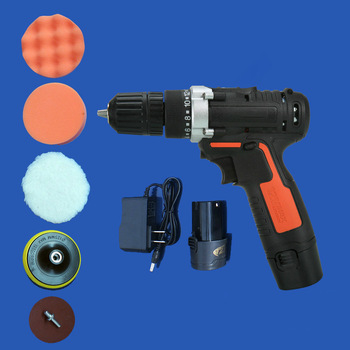 цена на Car beauty polishing machine wireless waxing machine tool 12V electric charging home car scratch sealing and polishing machine