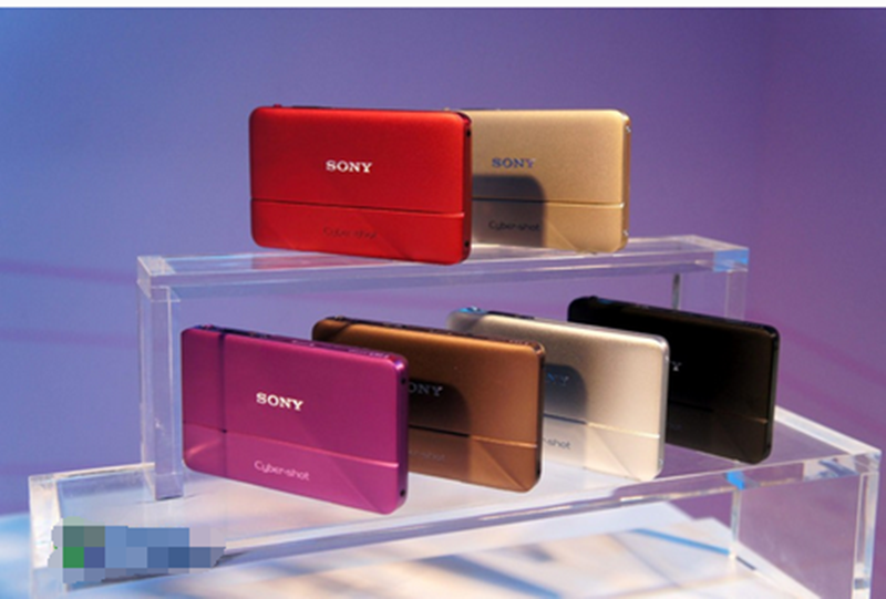 USED Sony Cyber-shot DSC-TX55 16.2 MP Slim Digital Camera with 5x Optical Zoom and 3.3-Inch OLED touch screen image