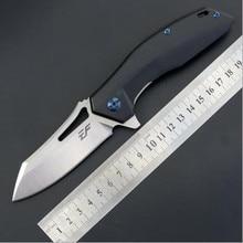 купить High quality EF911 folding knife D2 blade G10 handle pocket outdoor camping hunting knife Tactical Survival fruit knife EDC tool онлайн