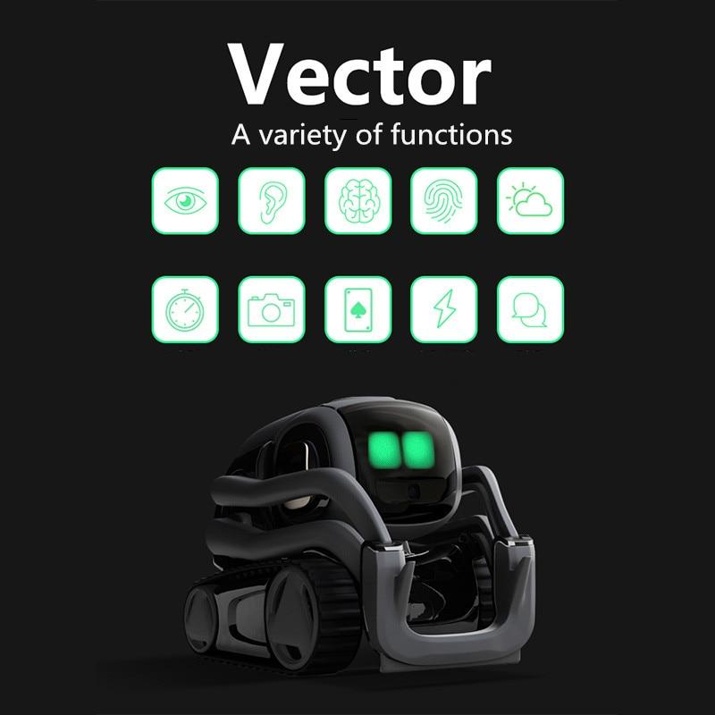 Juguetes de inteligencia Artificial, Robot de Vector para niños chicos cumpleaños, regalo, juguetes de Interacción de voz inteligentes, educación temprana para niños - 3