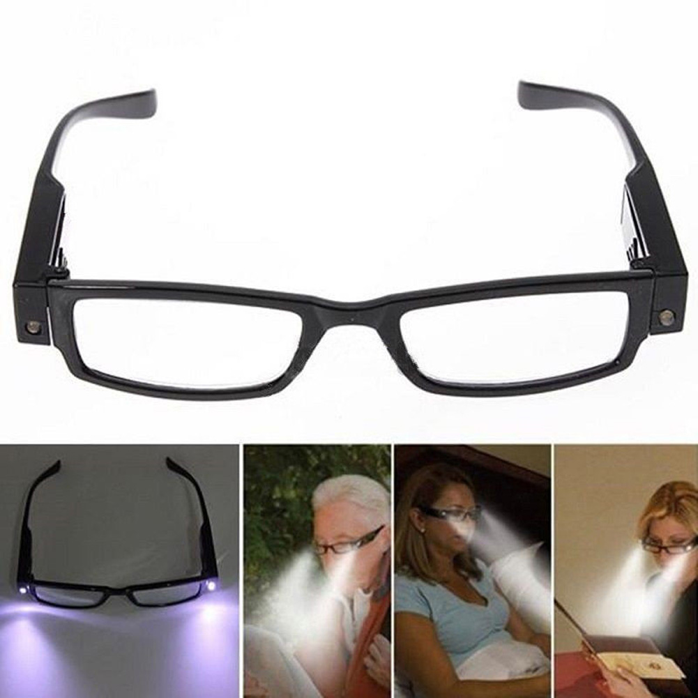 Flexible LED Light Glasses Made Of Plastic Material For Camping And Tool Repair