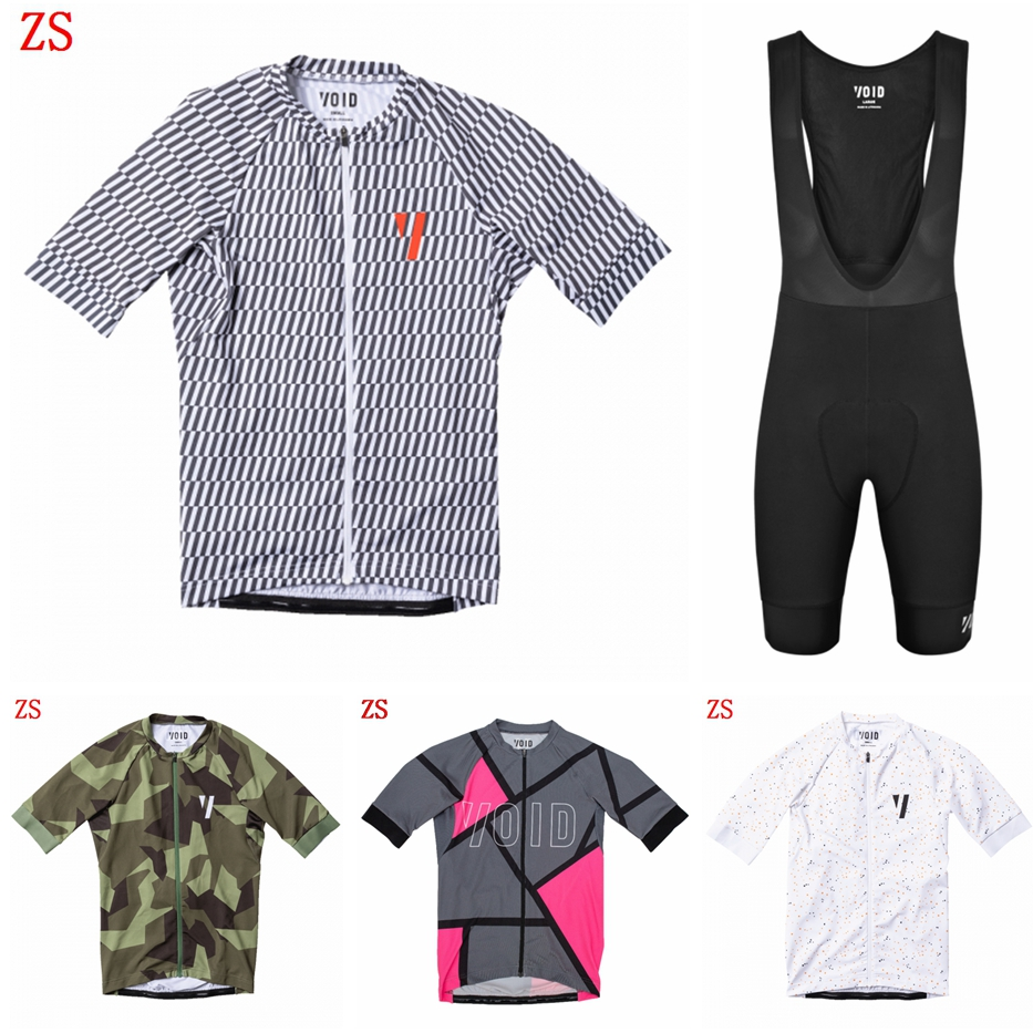 VOID Cycling Jersey 2020 Bicycle Tops Men's Bicycle Team Racing Wear Camisas De Ciclismo Summer Lightweight Bike Clothing