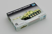 цена на Trumpeter 1/72 07147 Russian T-62 Main Battle Tank Mod.1972 MBT Display Collectible Toy Plastic Assembly Building Model Kit