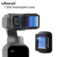 Ulanzi OP-11 Osmo Pocket 1.33X Anamorphic Lens 4K DH Wide Angle Lens for DJI Osmo Pocket  Osmo Pocket Gimbal Accessories