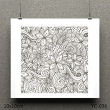 ZhuoAng Bloom model Clear Stamps For DIY Scrapbooking/Card Making Decorative Silicon Stamp Crafts zhuoang turtle model clear stamps for diy scrapbooking card making decorative silicon stamp crafts