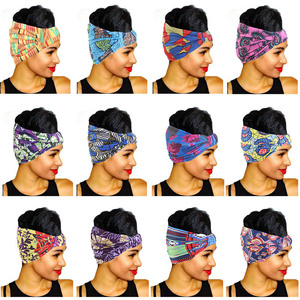 Cotton Headband African Patter