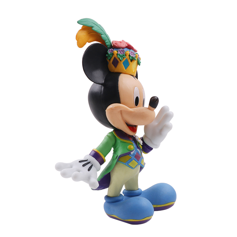 10-13cm Disney Action Figure Mickey Mouse Minnie Princess Donald Duck Kawaii Doll Birthday Present Children Toy Collection Boy