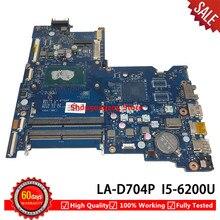 BDL50 LA-D704P основная плата для hp Тетрадь 15AY 15-AY 250 G5 Материнская плата ноутбука SR2EY i5-6200U работает 854945-601 85494