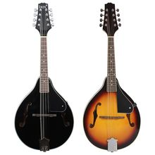 Musical-Instrument Mandolin Steel-String IRIN with Rosewood Adjustable Sunburst