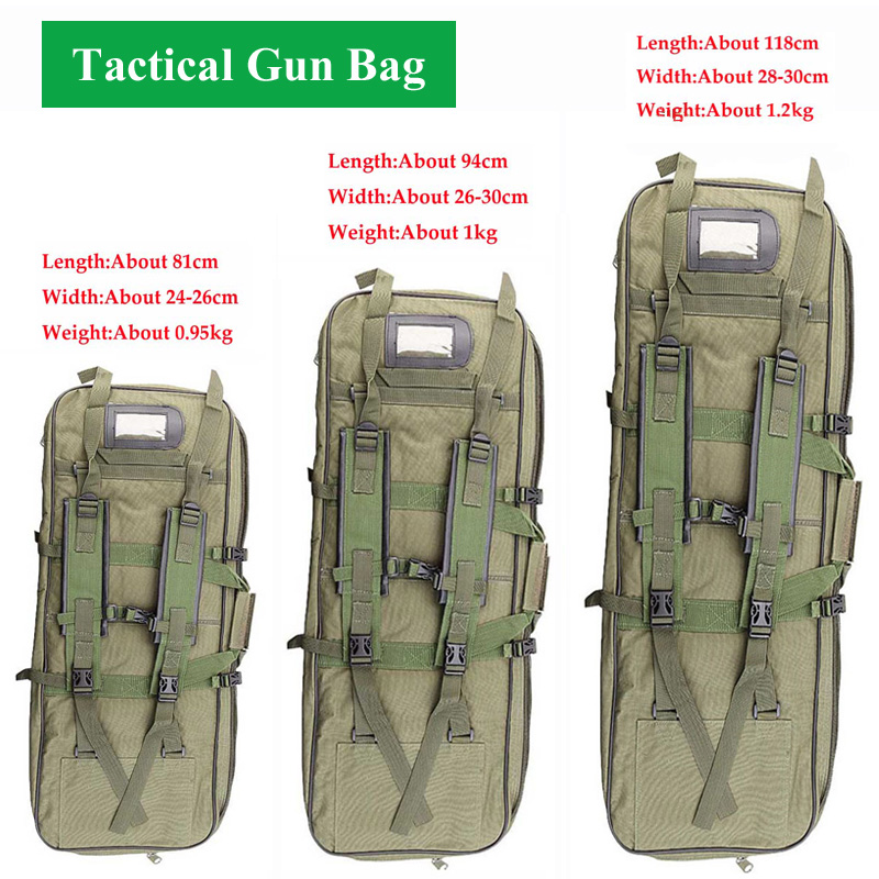 Tactical Gun Bag Army Military Equipment Hunting Bag Outdoor Airsoft Sport Rifle Case Gun Carry Protection Backpack 81/94/118CM