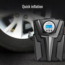 AOSHIKE voiture pompe à Air 12V numérique pneu gonfleur 150PSI automatique avec manomètre pour pour LED pour moto ou voiture