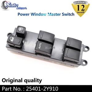 XUAN силовой стеклоподъемник мастер переключатель управления 25401-2Y910 для Nissan Maxima Subaru Impreza Infiniti I35 1999-2006