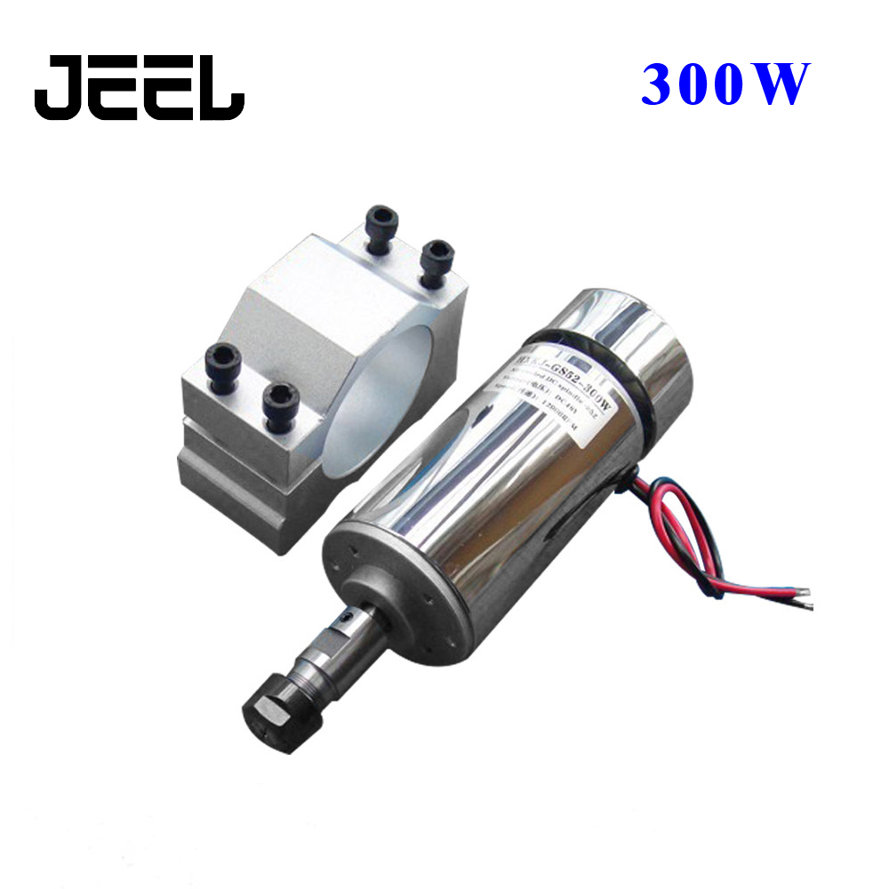 For Sale 52mm cnc spindle 300w ER11 chuck DC 12-48v 300W Spindle motor cnc for Engraving Machine