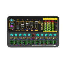 Microphone-Mixer Light Interface Audio-Effects Computer Sound-Card Tiktok Digital Rechargeable