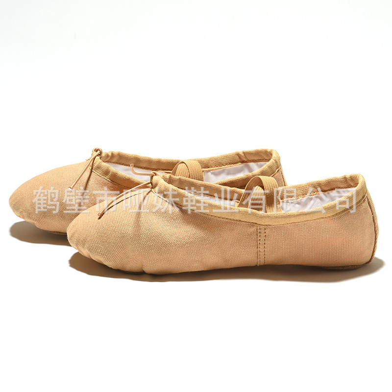 Adult Dance Shoes Girls Soft-Sole Gymnastic Men's Body CAT'S Paw Young CHILDREN'S Dancing Yoga Camel China Ballet