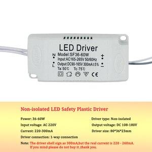 Image 3 - 8 120W 입력 AC 220V 현재 220 300mA 비 절연 Treiber 변압기 일정한 LED 운전사 전력 공급은 led 빛을 위해 적응시킨다
