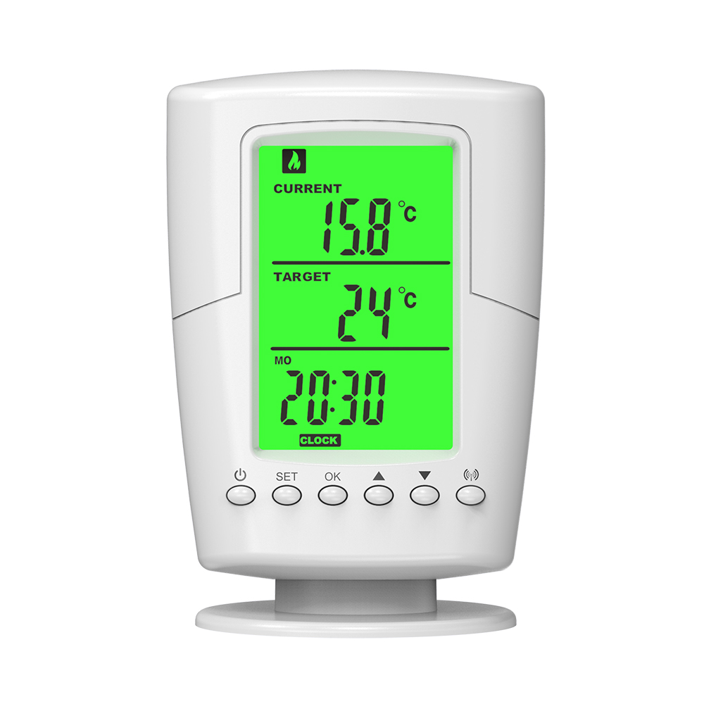 Wireless WiFi Thermostat RF Plug Remote Control Smart Home Thermostat Temperature Controller For Indoor Heating Cooling