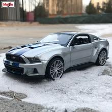 Maisto 1:24 2010 Ford Mustang Roadster имитация сплава Модель автомобиля Моделирование Украшение автомобиля коллекция Подарочная игрушка