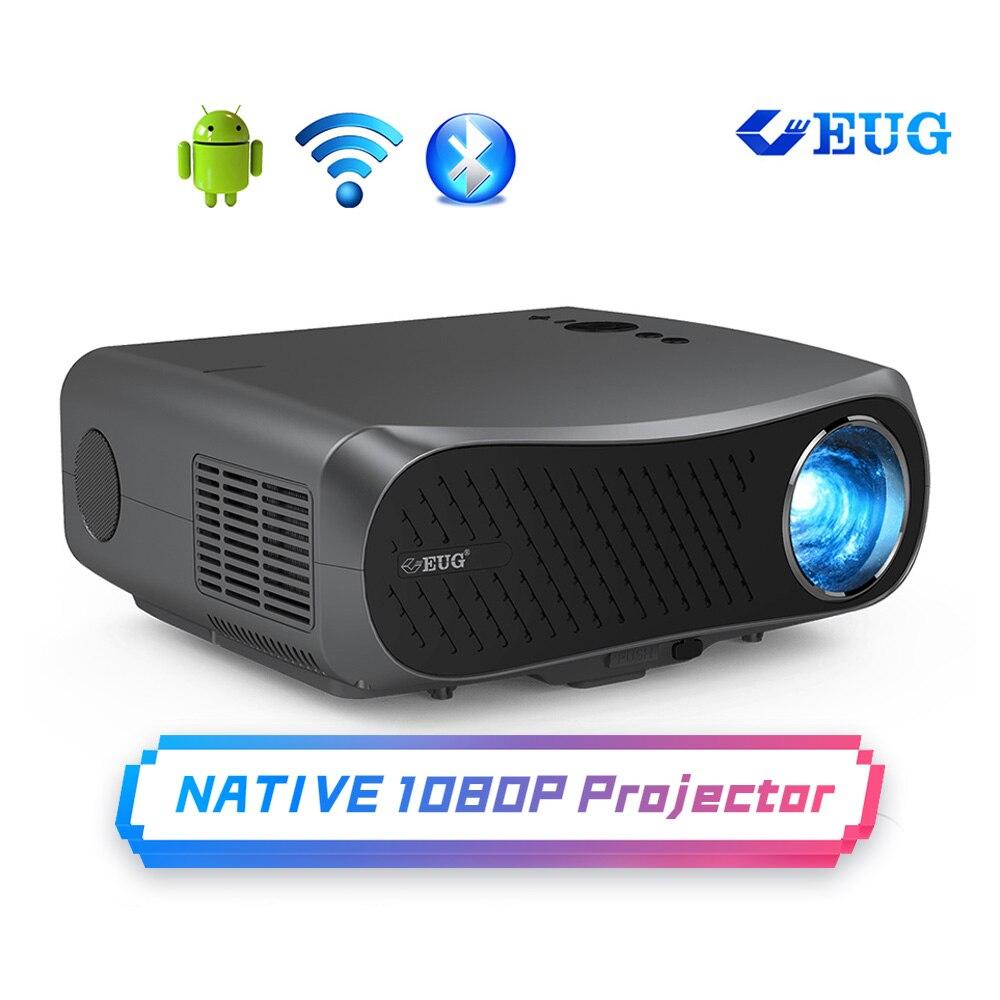 7000 люмен Full HD Wifi Bluetooth проектор 1080P Native поддержка 4K светодиодный Смарт Android беспроводной домашний открытый проектор